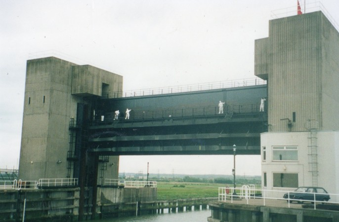 Dartford Creek Barrier